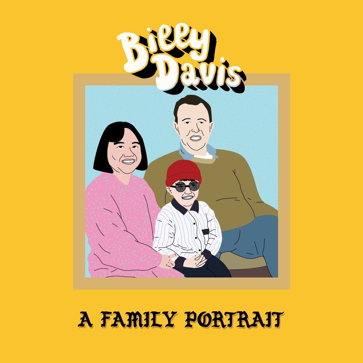 Billy Davis - A Family Portrait (2017 LP)